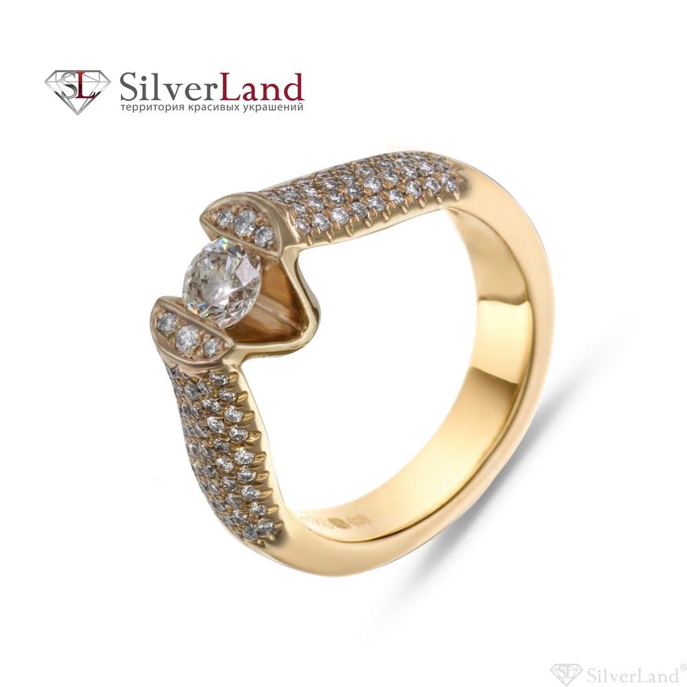 3facd292 Купить кольцо с бриллиантом красное золото KБ-99 выгодная цена в ...